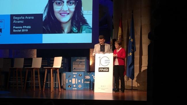 La trabajadora social Begoña Arana, Premio Fundación Princesa de Girona Social 2019